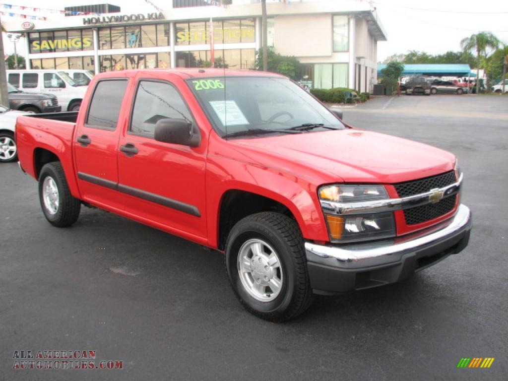 2006 chevrolet colorado crew cab in victory red 174793 all american automobiles buy. Black Bedroom Furniture Sets. Home Design Ideas
