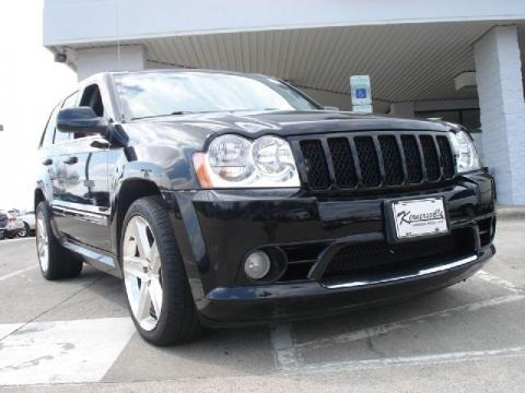 jeep cherokee srt8 black. 2007 Jeep Grand Cherokee SRT8 4x4. $27877. Kernersville Chrysler Dodge