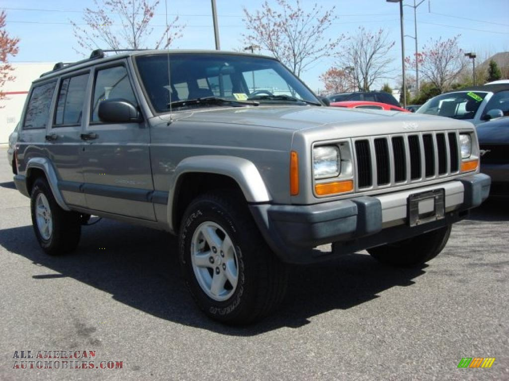 2000 jeep cherokee sport 4x4 in silverstone metallic 253166 all. Cars Review. Best American Auto & Cars Review