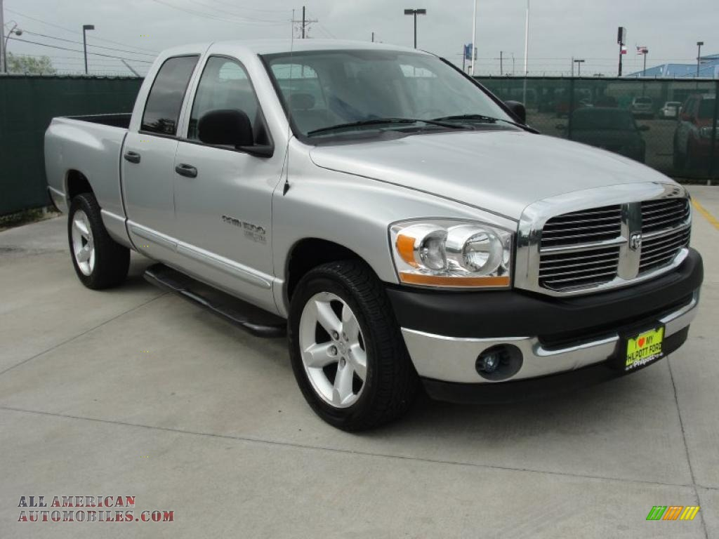 2006 dodge ram 1500 slt lone star edition quad cab in bright silver. Black Bedroom Furniture Sets. Home Design Ideas