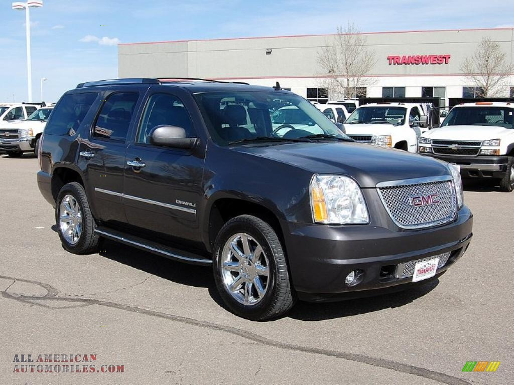 2012 Gmc Yukon Xl Denali Awd Graystone Metallic Color