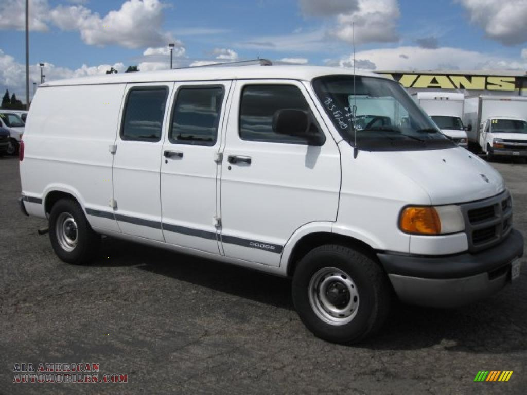 2001 dodge ram van 1500 in bright white 516730 all. Black Bedroom Furniture Sets. Home Design Ideas