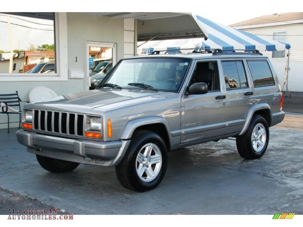 2001 jeep cherokee classic in silverstone metallic 570511 all american automobiles buy. Black Bedroom Furniture Sets. Home Design Ideas