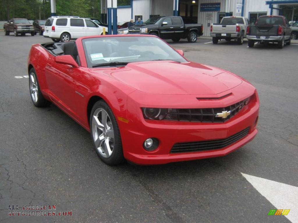 2011 chevrolet camaro ss rs convertible in victory red photo 8 167317 all american. Black Bedroom Furniture Sets. Home Design Ideas