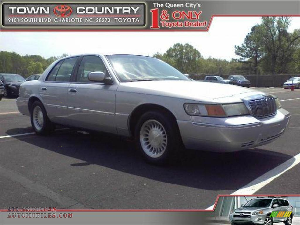 2002 mercury grand marquis ls in silver frost metallic 611138 all american automobiles buy. Black Bedroom Furniture Sets. Home Design Ideas