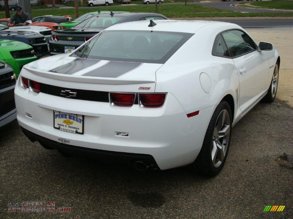 2011 chevrolet camaro ss rs coupe in summit white photo 2 107514 all american automobiles. Black Bedroom Furniture Sets. Home Design Ideas