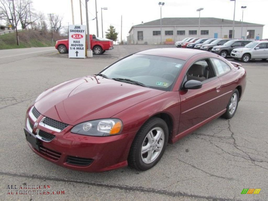 2004 Dodge Stratus SXT Coupe in Deep Red Pearlcoat photo ...