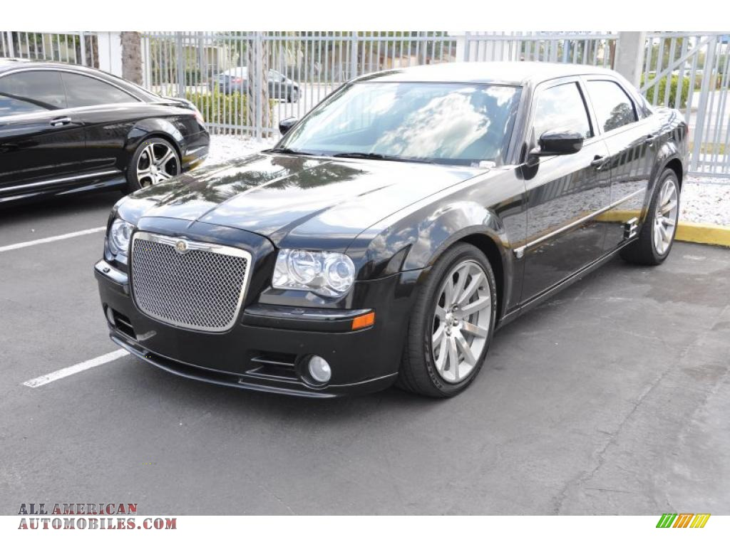 2005 chrysler 300 c srt 8 in brilliant black crystal pearl 667435 all american automobiles. Black Bedroom Furniture Sets. Home Design Ideas