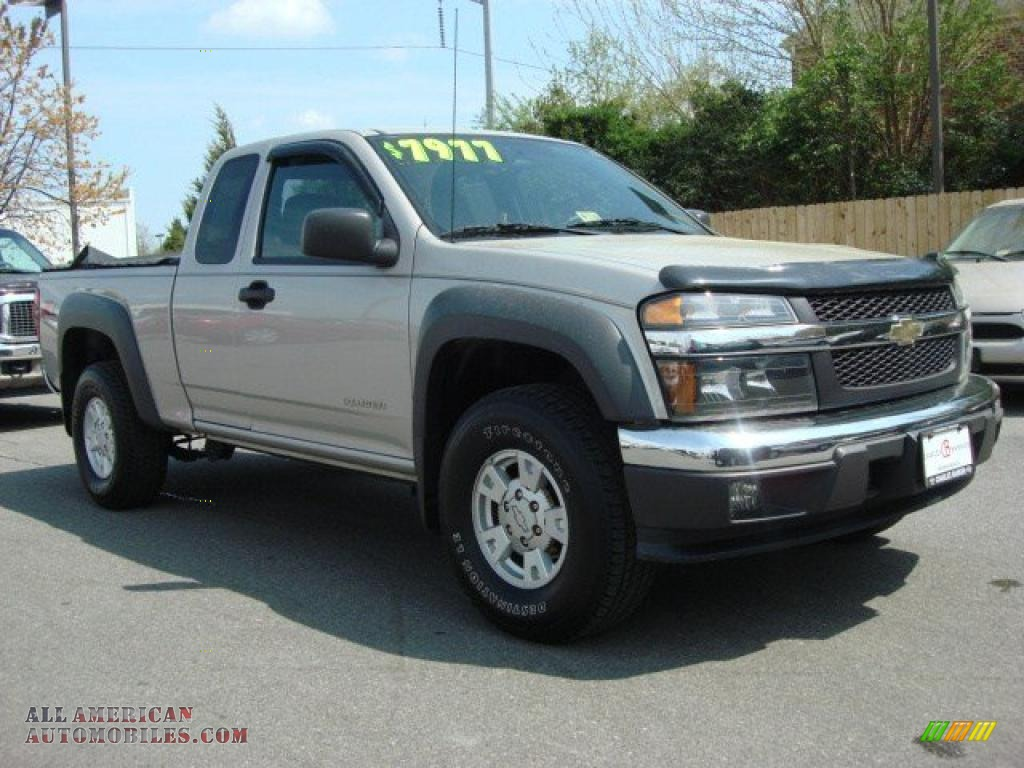 2005 chevrolet colorado z71 extended cab in silver birch metallic 145217 all american. Black Bedroom Furniture Sets. Home Design Ideas