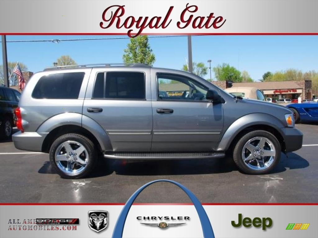 2007 dodge durango limited 4x4 in mineral gray metallic for Royal chrysler motors inc