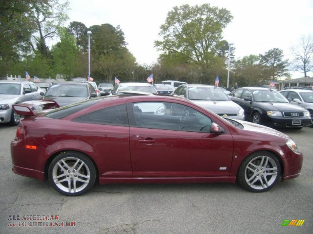 2008 chevrolet cobalt ss coupe in sport red tint coat photo 6 299924 all american. Black Bedroom Furniture Sets. Home Design Ideas