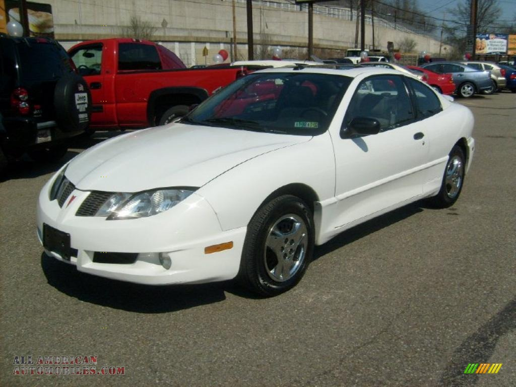 2004 Pontiac Sunfire Coupe In Summit White 324515 All