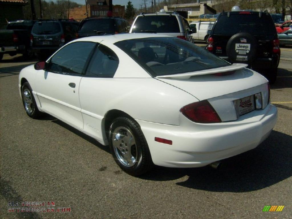 2004 Pontiac Sunfire Coupe In Summit White Photo 3