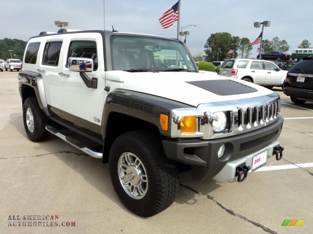 2008 hummer h3 alpha in birch white photo 2 100668 all american automobiles buy american. Black Bedroom Furniture Sets. Home Design Ideas