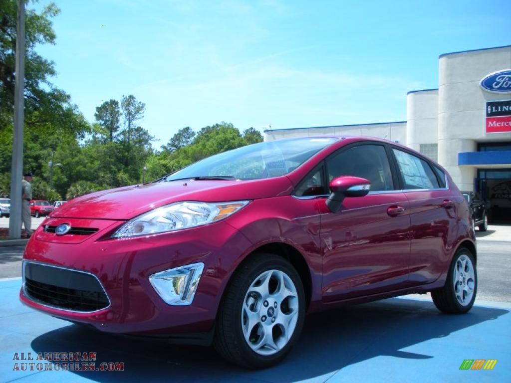 2011 ford fiesta ses hatchback in bright magenta metallic photo 12 200239 all american. Black Bedroom Furniture Sets. Home Design Ideas