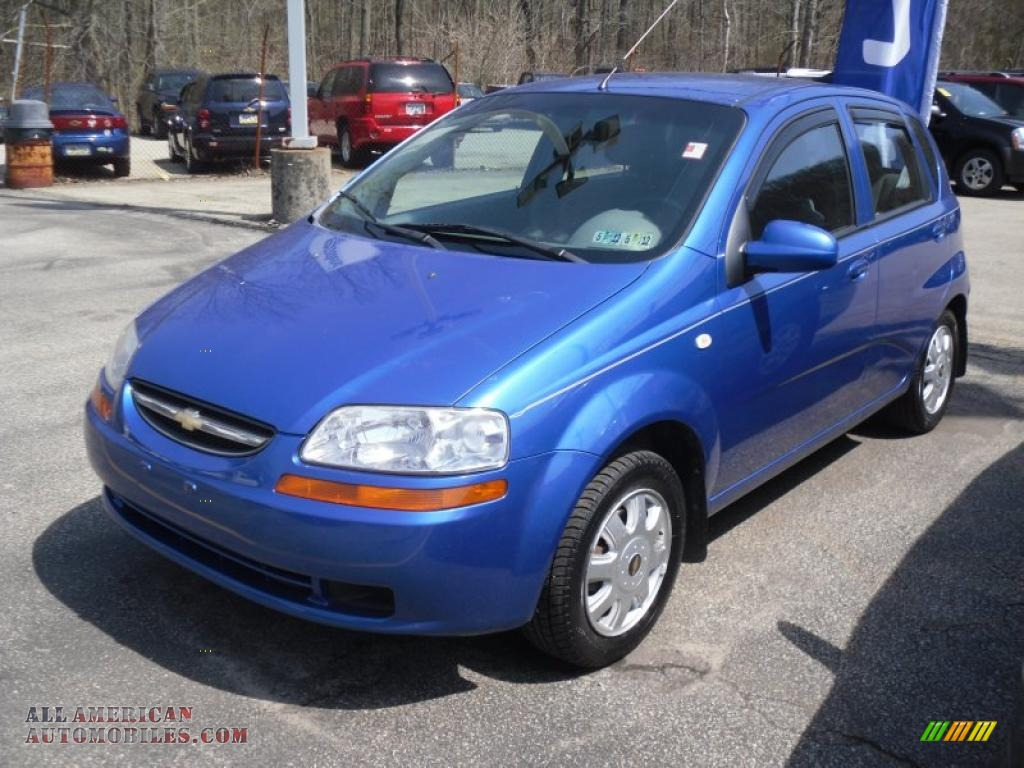 2005 Chevrolet Aveo Ls Hatchback In Bright Blue Metallic