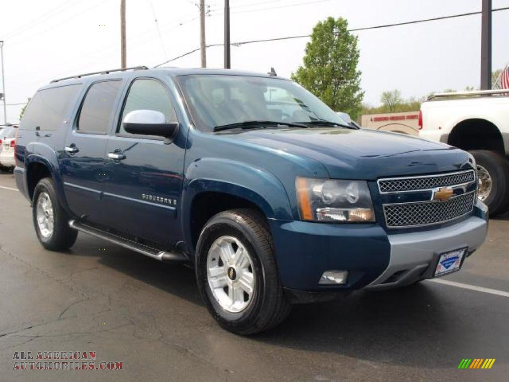 2007 chevrolet suburban 1500 ltz 4x4 in bermuda blue. Black Bedroom Furniture Sets. Home Design Ideas