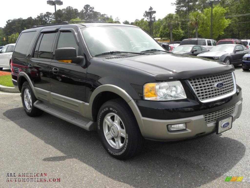 2003 Ford Expedition Eddie Bauer In Black Clearcoat