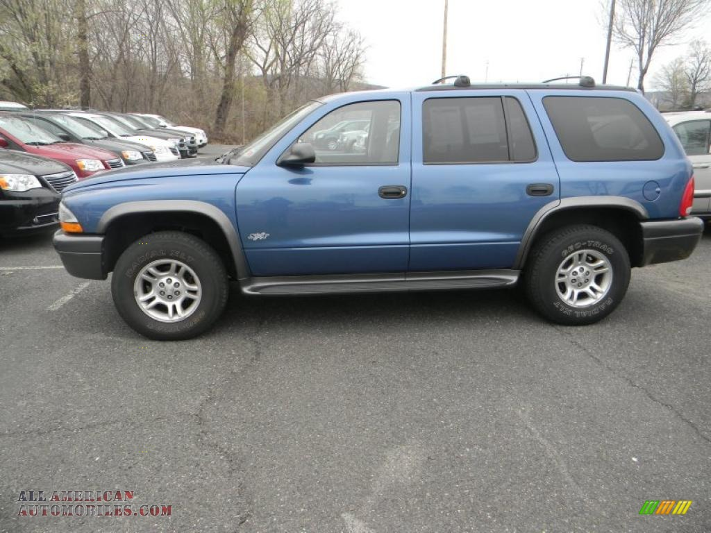 2002 Dodge Durango Sxt 4x4 In Atlantic Blue Pearl 192362 All American Automobiles Buy American Cars For Sale In America