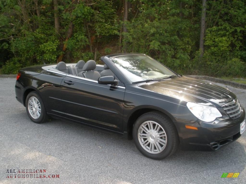 2008 chrysler sebring touring convertible in brilliant black crystal pearl 642117 all. Black Bedroom Furniture Sets. Home Design Ideas