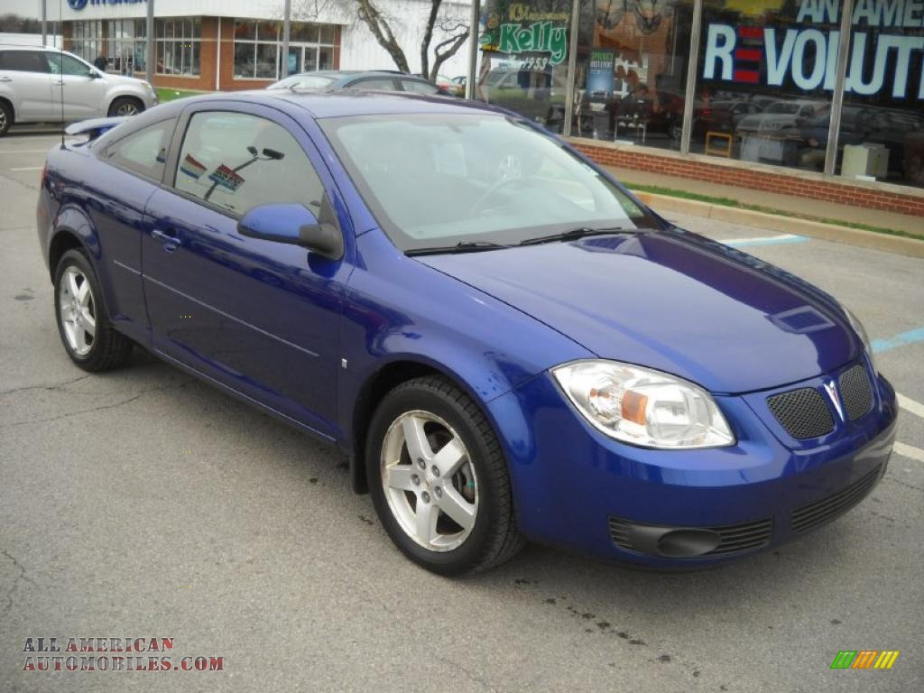 2007 Pontiac G5 In Nitrous Blue 119687 All American Automobiles Buy American Cars For Sale