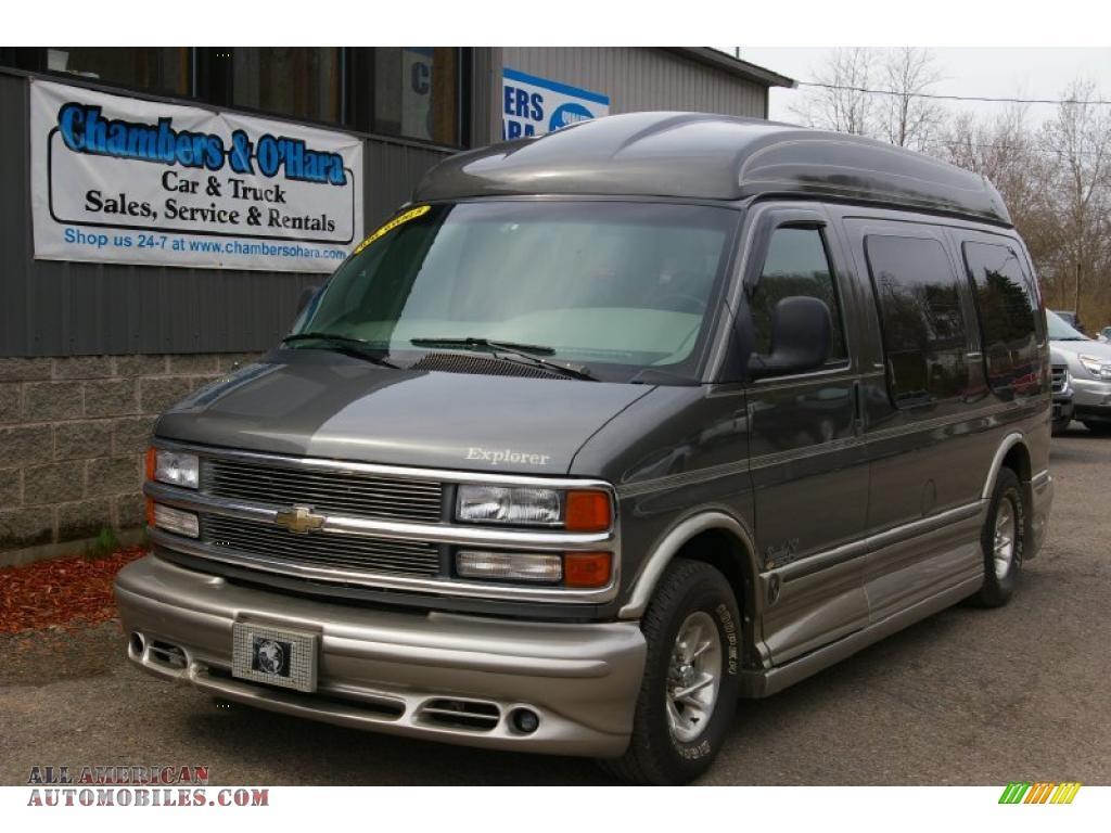 2000 Chevrolet Express G1500 Penger Conversion Van in Medium ...