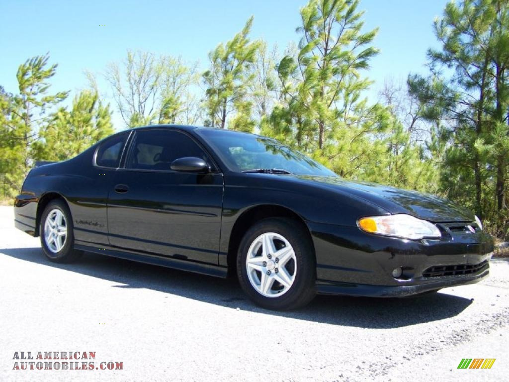 2003 chevrolet monte carlo ss in black 123234 all american automobiles buy american cars. Black Bedroom Furniture Sets. Home Design Ideas