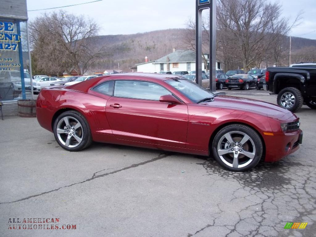 2011 Chevrolet Camaro Lt Rs Coupe In Red Jewel Metallic