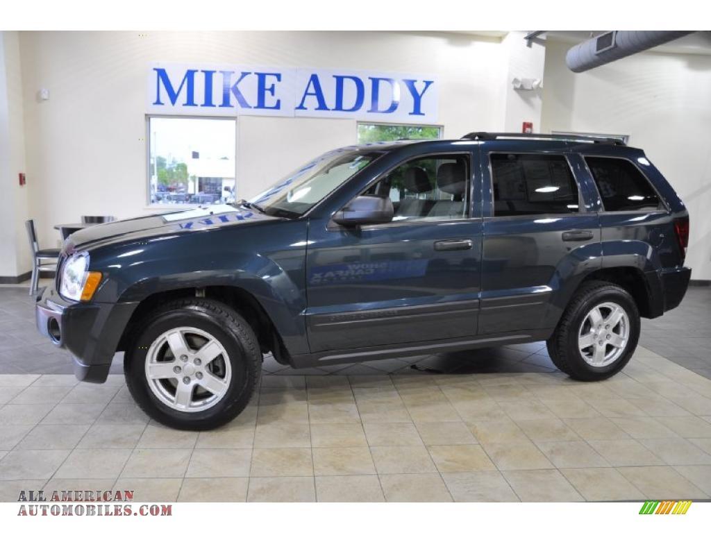 2005 jeep grand cherokee laredo 4x4 in deep beryl green pearl 508412 all american. Black Bedroom Furniture Sets. Home Design Ideas