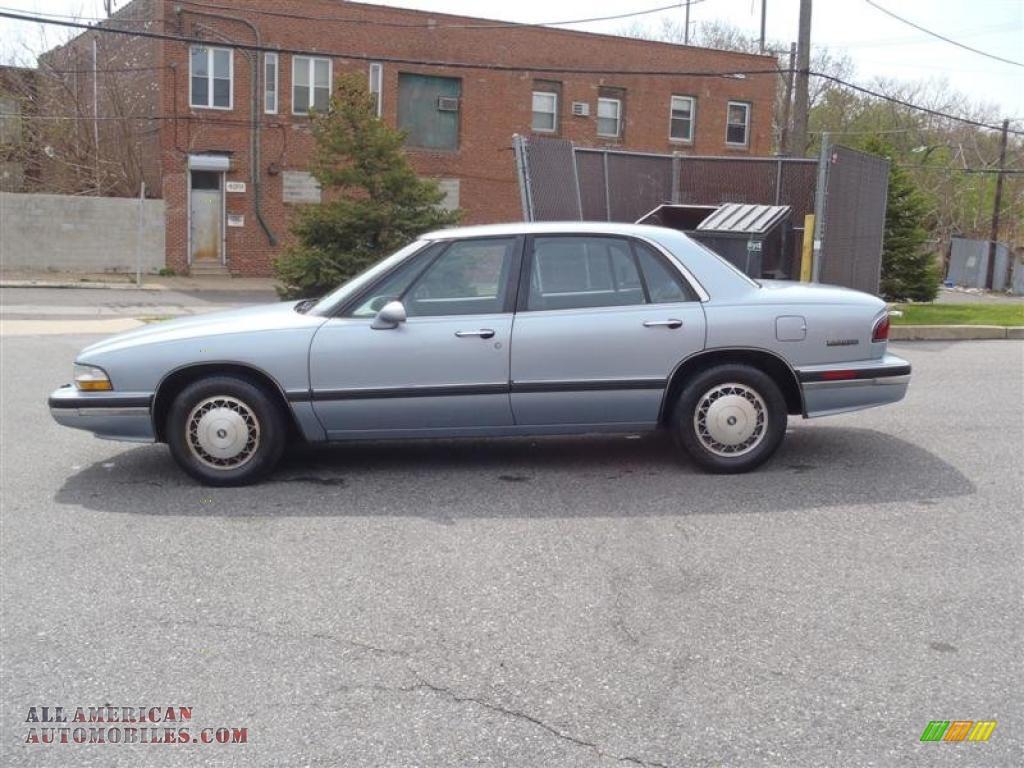 1994 Buick Lesabre Custom In Light Adriatic Blue Metallic