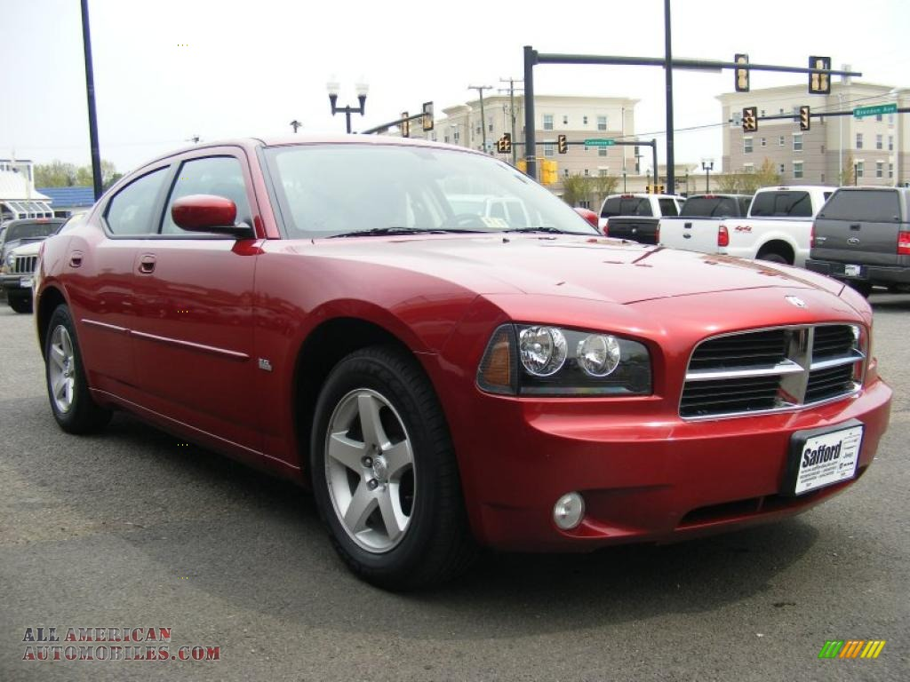 2010 dodge charger sxt in inferno red crystal pearl photo 3 118081 all american automobiles. Black Bedroom Furniture Sets. Home Design Ideas