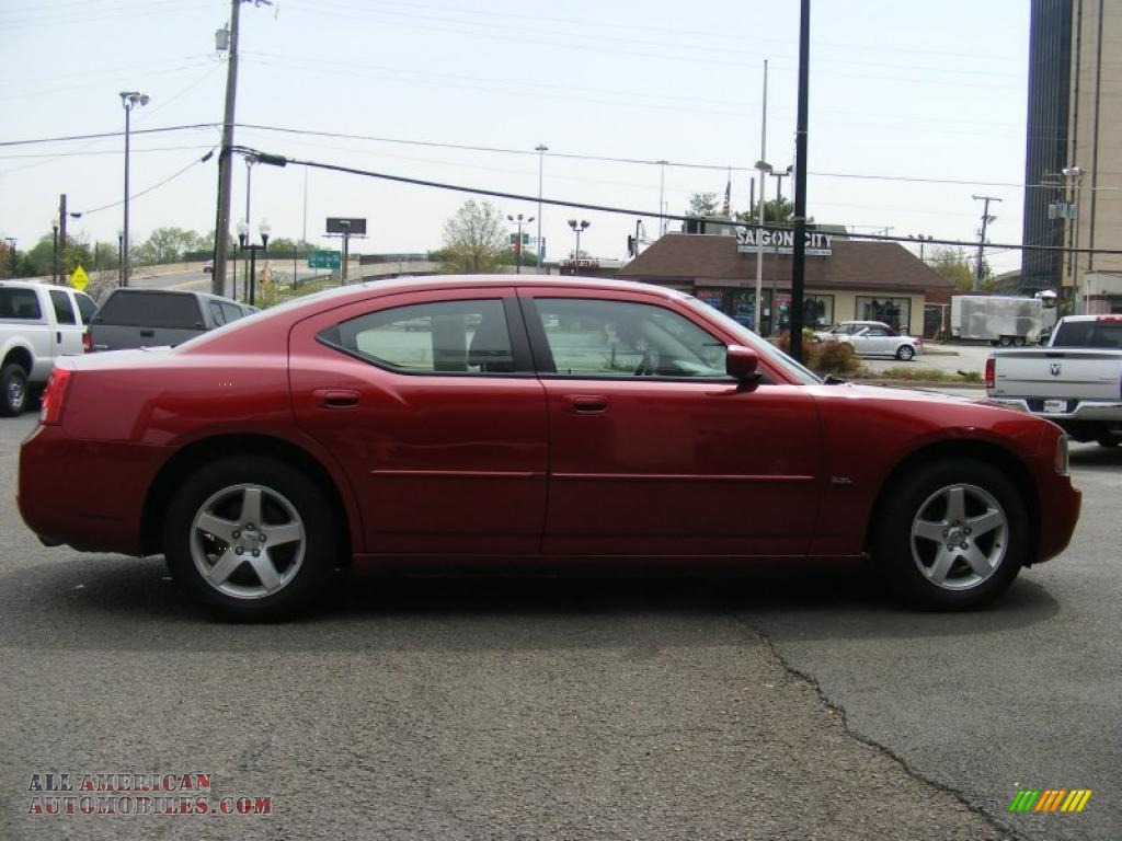 2010 dodge charger sxt in inferno red crystal pearl photo 4 118081 all american automobiles. Black Bedroom Furniture Sets. Home Design Ideas