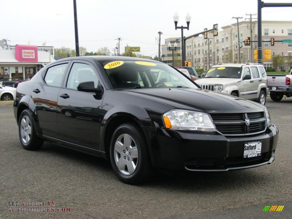 2010 dodge avenger sxt in brilliant black crystal pearl for Steve white motors inc