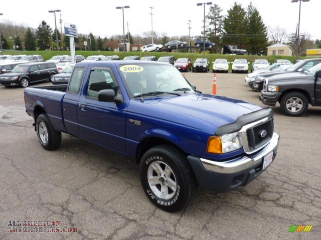 2004 ford ranger xlt supercab 4x4 in sonic blue metallic photo 6 a14279 all american. Black Bedroom Furniture Sets. Home Design Ideas