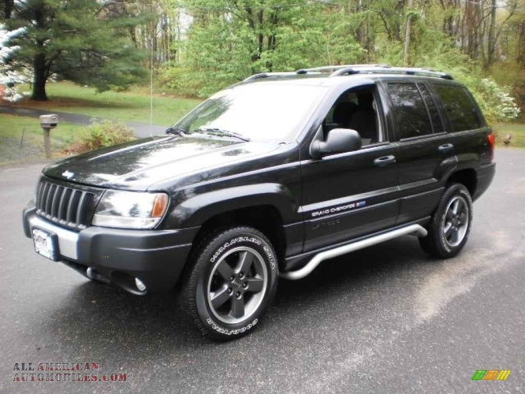 2004 jeep grand cherokee freedom edition 4x4 in brillant black crystal pearl 161210 all. Black Bedroom Furniture Sets. Home Design Ideas