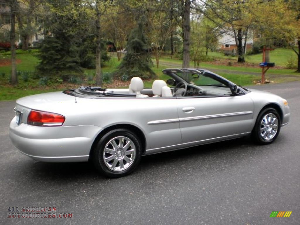 2005 chrysler sebring limited convertible in brilliant silver metallic photo 3 707640 all. Black Bedroom Furniture Sets. Home Design Ideas