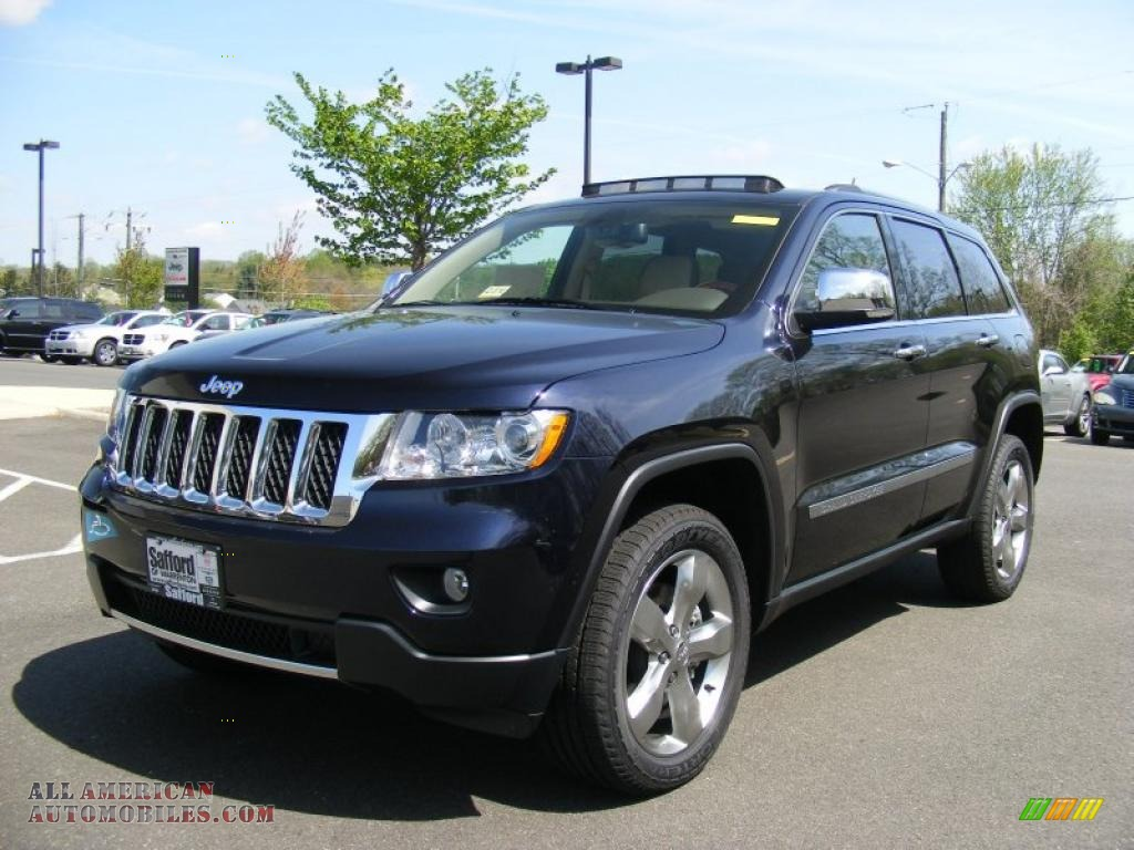 2011 jeep grand cherokee overland 4x4 in blackberry pearl 607367 all american automobiles. Black Bedroom Furniture Sets. Home Design Ideas