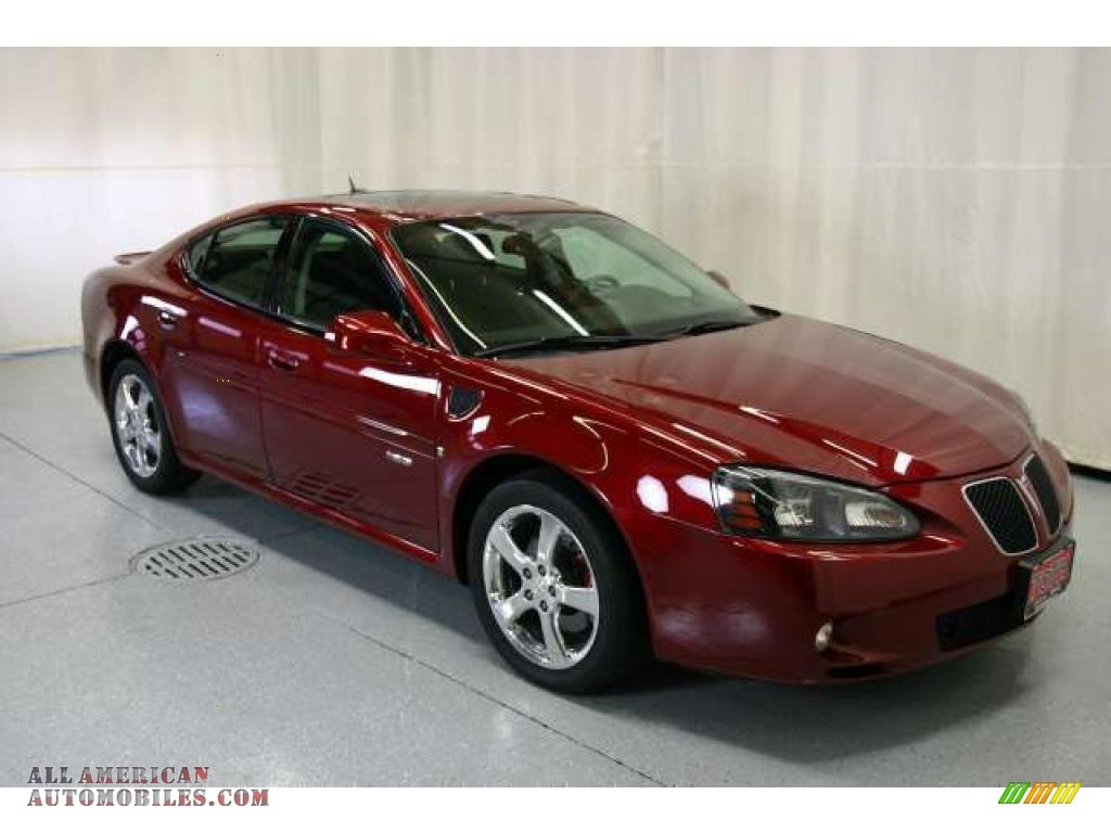 2007 pontiac grand prix gxp sedan in red jewel tintcoat 176245 all american automobiles. Black Bedroom Furniture Sets. Home Design Ideas