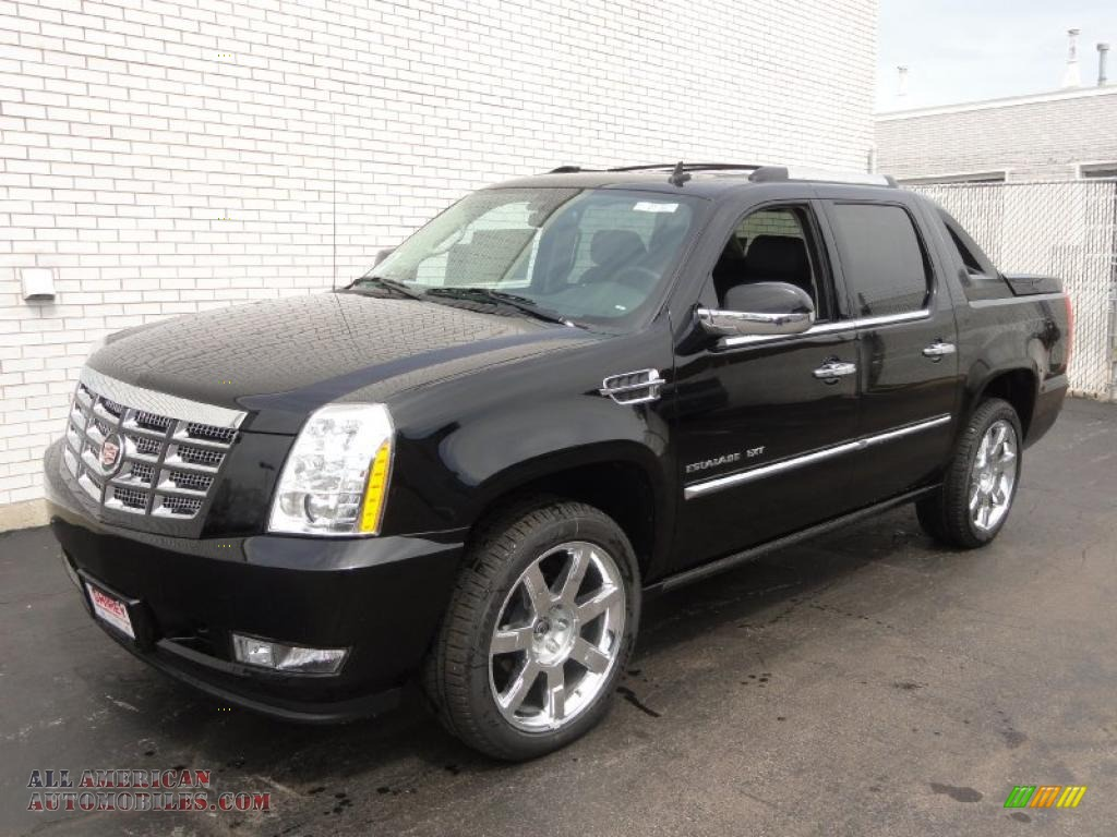 2011 cadillac escalade ext premium awd in black raven 295652 all american automobiles buy. Black Bedroom Furniture Sets. Home Design Ideas