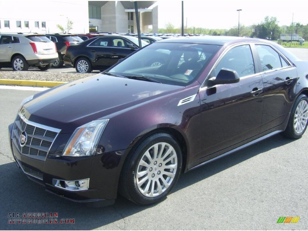 2010 cadillac cts 4 3 6 awd sedan in black cherry photo 8. Black Bedroom Furniture Sets. Home Design Ideas
