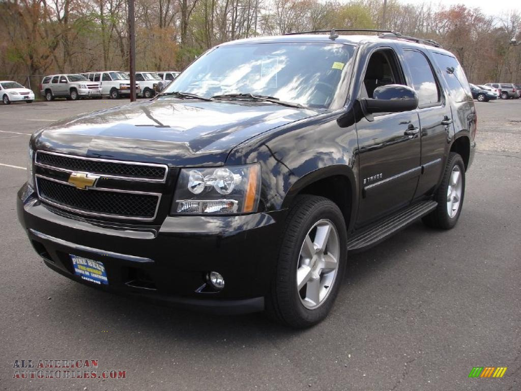 2008 chevrolet tahoe lt in black 191442 all american automobiles buy american cars for. Black Bedroom Furniture Sets. Home Design Ideas