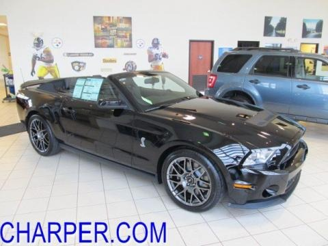 Black Ford Mustang Gt500kr. 2012 Ford Mustang Shelby GT500