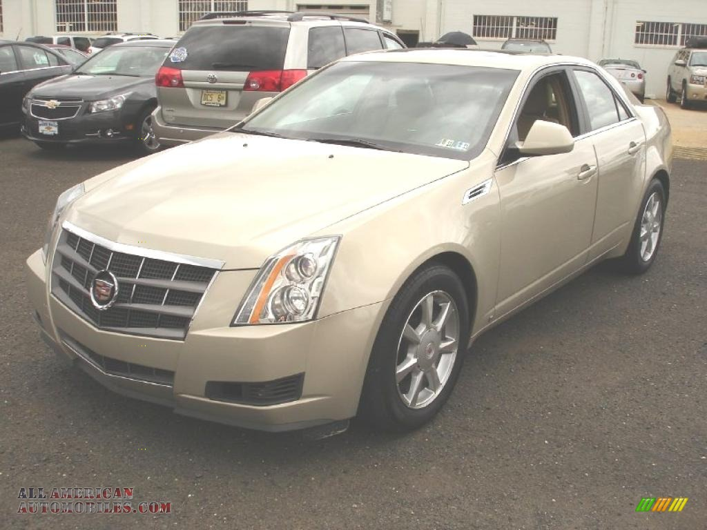 Pine Belt Cadillac >> 2008 Cadillac CTS Sedan in Gold Mist - 193460 | All American Automobiles - Buy American Cars for ...