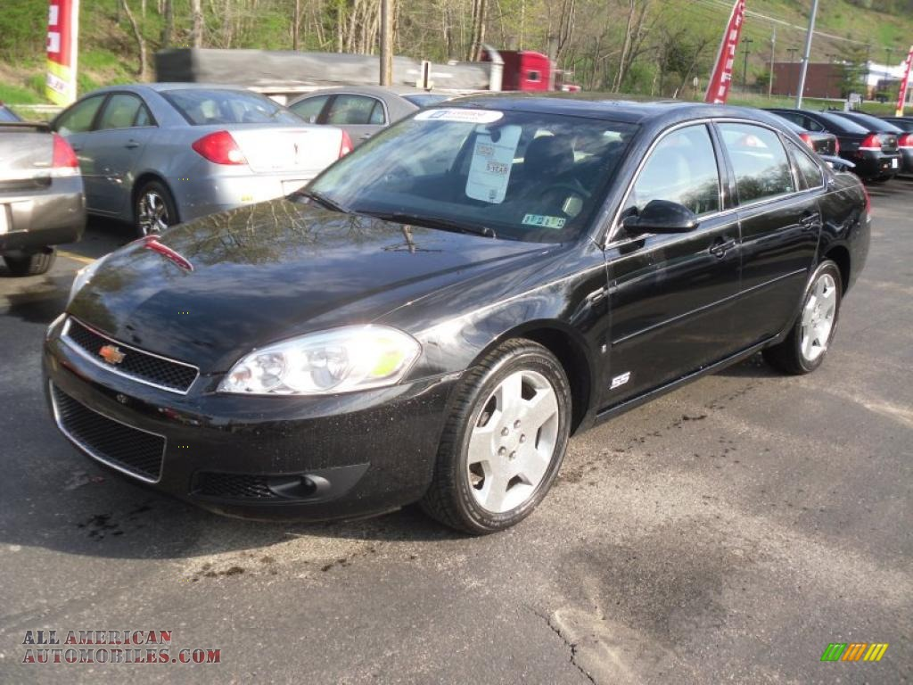 2007 chevrolet impala ss in black 103430 all american automobiles buy american cars for. Black Bedroom Furniture Sets. Home Design Ideas