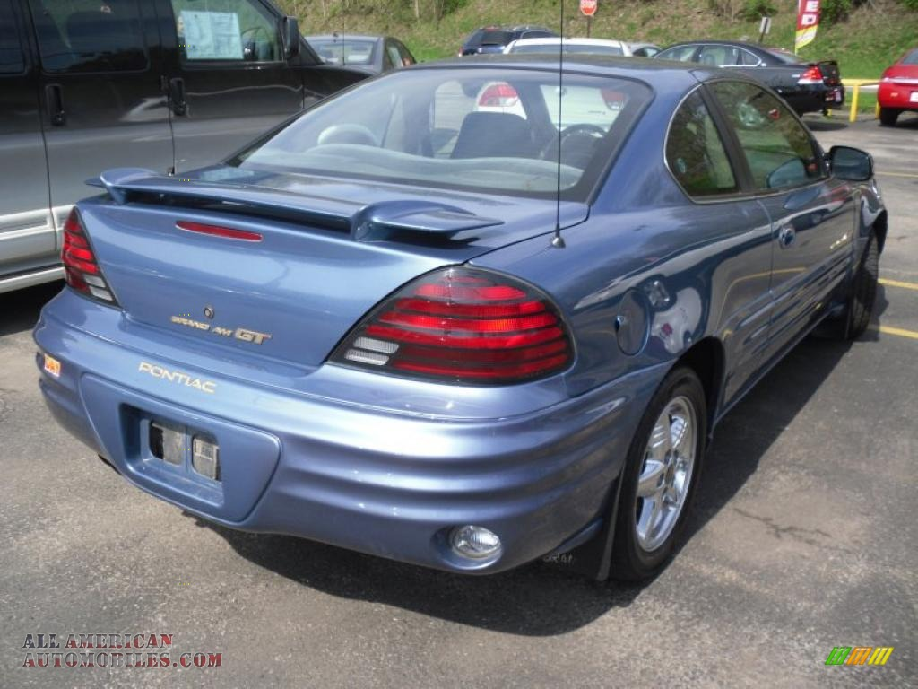 1999 pontiac grand am gt coupe in medium gulf blue metallic photo 4 709037 all american automobiles buy american cars for sale in america all american automobiles