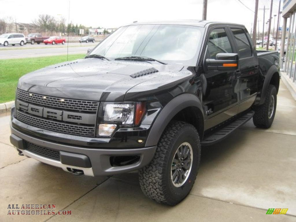 2011 ford f150 svt raptor supercrew 4x4 in tuxedo black metallic b15591 all american. Black Bedroom Furniture Sets. Home Design Ideas