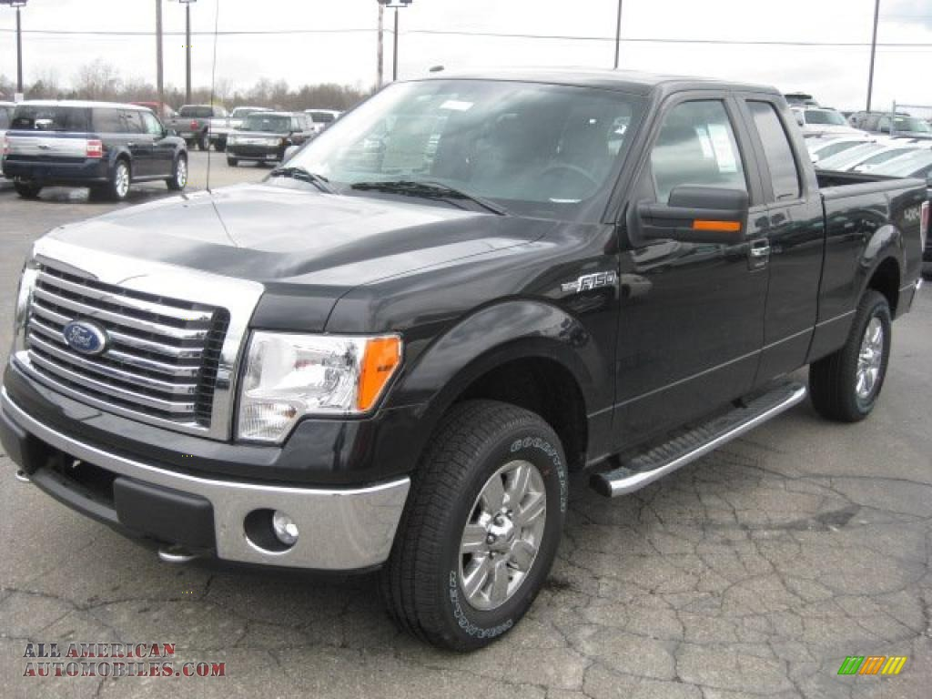 2011 ford f150 xlt supercab 4x4 in tuxedo black metallic a50034 all american automobiles. Black Bedroom Furniture Sets. Home Design Ideas