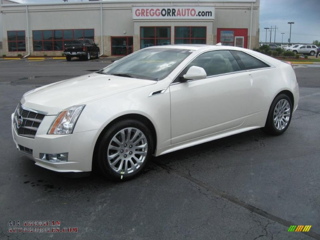 2011 Cadillac CTS Coupe in White Diamond Tricoat - 155991 ...