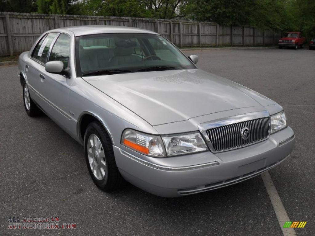 2003 mercury grand marquis ls in silver birch metallic photo 5 677045 all american. Black Bedroom Furniture Sets. Home Design Ideas