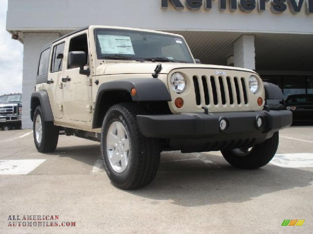 2011 jeep wrangler unlimited sport 4x4 in sahara tan 598169 all american automobiles buy. Black Bedroom Furniture Sets. Home Design Ideas